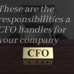 These are the responsibilities a CFO handles for your company